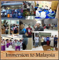 IMMERSION TO MALAYSIA